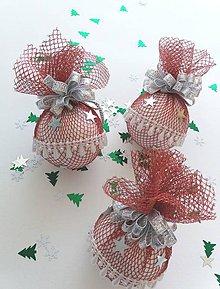 Dekorácie - Vianočná guľa - 9947561_