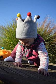 Detské čiapky - ...korunované dieťa... - 9946858_