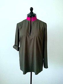 Košele - Tunika, košeľa, blúzka (S-XL - Ružová) - 9948879_