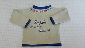 Detské oblečenie - Košieľka na krst - 9947339_