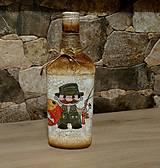 Nádoby - Fľaša pre rybára - 9949395_