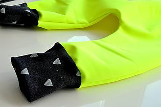 Detské oblečenie - SOFTSHELL NEON nohavice - 9951529_