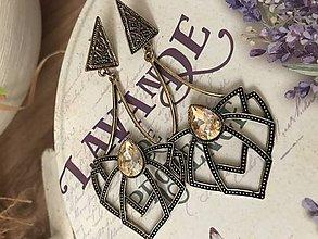 Náušnice - Diamonds 💚 - 9952082_