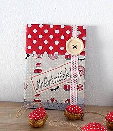 Papiernictvo - Receptár / zápisník (Na vianočné dobroty) - 9951650_