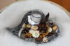 Dekorácie - Srdiečko na hrob - 9952098_