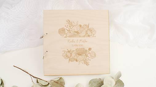 6edf26a1995b Drevená svadobná kniha hostí   Elart - SAShE.sk - Handmade Papiernictvo