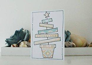 Papiernictvo - Vianočná pohľadnica MAGIC MOMENTS - 9951419_