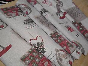 Úžitkový textil - Vianočný obrus stredový. - 9950751_