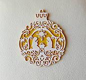 Dekorácie - Drevený obrázok Svätá rodina - 9951052_