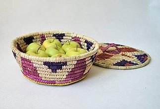 Košíky - Egyptský podnos na ovocie - 9952473_