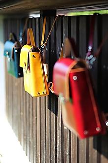 Kabelky - Kožená kabelka a ruksak 2v1 BURGUNDY AUTUMN 2018 - 9952867_