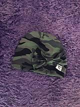Detské čiapky - Čiapka s mašľou - 9951581_