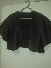 Iné oblečenie - Saténové  bolerko - 9950629_