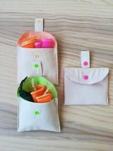 Nákupné tašky - Nákupná súprava vreciek na zeleninu - basic (Blue) - 9952099_