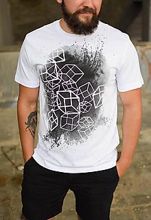 Tričká - Pánske tričko FRONT BEHIND - 9950903_