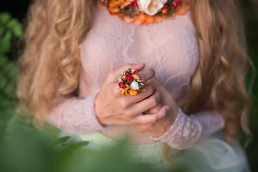 """Kvetinový prstienok """"skroť si ma"""""""