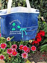 Veľké tašky - RECY taška jeans - 9952732_