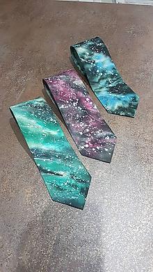 Doplnky - Hodvábna kravata zelená 04_18 - 9949776_