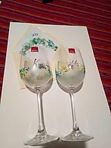 Darčeky pre svadobčanov - svadobné poháre 1 - 9950256_