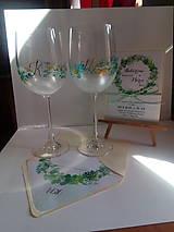 Darčeky pre svadobčanov - svadobné poháre 1 - 9950259_