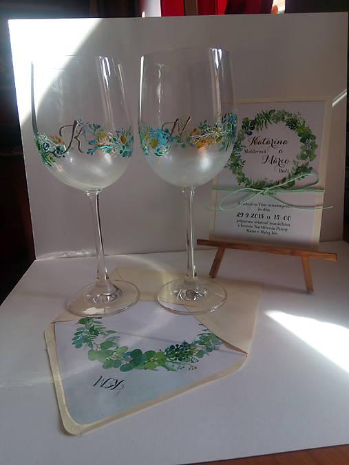 svadobné poháre 1