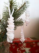 Dekorácie - Ľadové cencúliky - 9953980_
