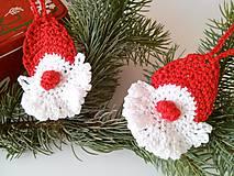 Dekorácie - Vianočná dekorácia Mikuláš - 9954033_