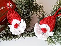 Dekorácie - Vianočná dekorácia Mikuláš - 9954035_