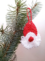 Dekorácie - Vianočná dekorácia Mikuláš - 9954036_