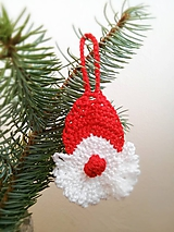 Dekorácie - Vianočná dekorácia Mikuláš - 9954038_