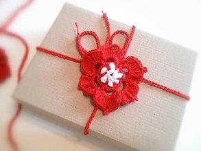 Dekorácie - Vianočná ruža - 9954083_