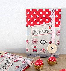 Papiernictvo - Receptár / zápisník (SUPER na vianočné dobroty) - 9954256_