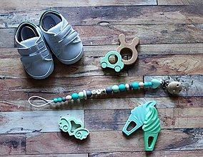 Detské doplnky - držiak na cumeľ alebo hryzátko (Max) - 9953795_
