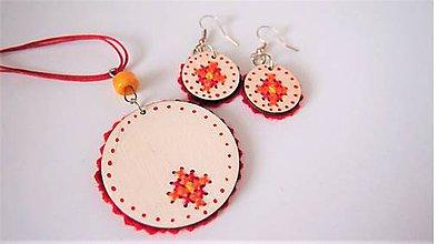 Sady šperkov - Set farebný - FOLK - 9953685_