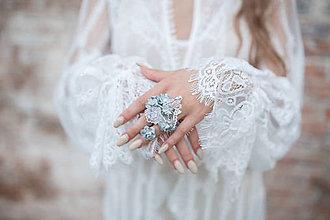 """Prstene - Prsteň pre nevestu """"ľadová kráľovná"""" - 9953734_"""