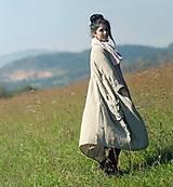 Kabáty - Lněný kabát - 9954785_