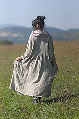 Kabáty - Lněný kabát - 9954791_
