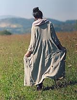 Kabáty - Lněný kabát - 9954793_