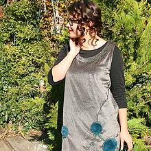 Tuniky - Šatová sukňa na zahriatie... - 9956150_