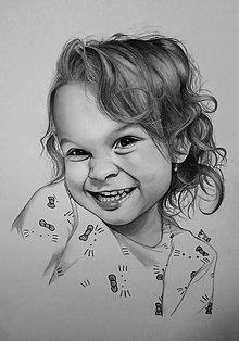 Obrazy - Portrét - Deti - 9956241_