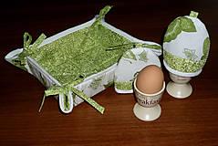 Úžitkový textil - súprava na raňajky s košíčkom - 9957577_