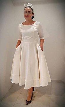 Šaty - Svadobné šaty IVORY - 9956165_