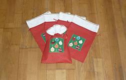Mikulášske/vianočné vrecúška na drobnosti  (na drobnosti 2)
