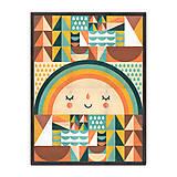 Úžitkový textil - Prikrývka Rainbow - 9958689_