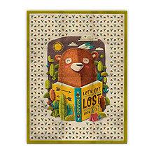 Úžitkový textil - Prikrývka Bear (135x100 cm) - 9958667_