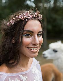 Ozdoby do vlasov - (Nielen) svadobná korunka