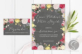 Papiernictvo - Svadobné oznámenie - SO083 - 9956705_