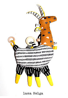 Hračky - Lama Helga - 9957695_