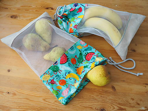 Iné tašky - Recyklovateľné vrecká do kuchyne - 9956106_