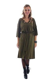 Šaty - Army šaty - 9958590_